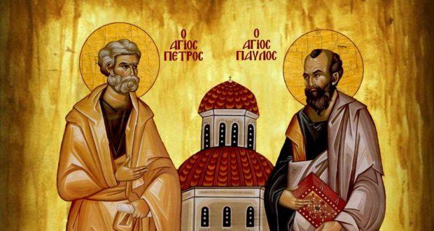 Υμνολογικό απάνθισμα από τον πλούτο της εορτής των Αγίων Αποστόλων