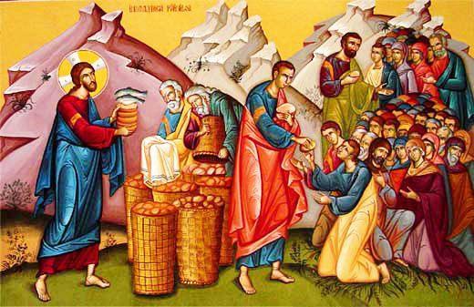 Κυριακή Η΄ Ματθαίου (Ο χορτασμός των πεντακισχιλίων)